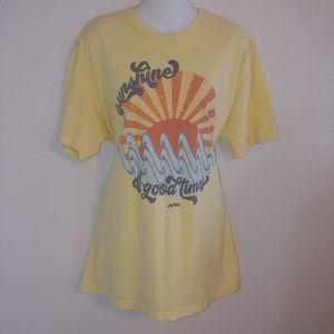 Sunshine and good vibes t shirt